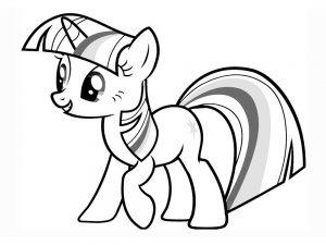 мой маленький пони искорка сумеречная картинки раскраски крупные (10)