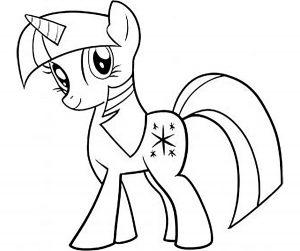 мой маленький пони искорка сумеречная картинки раскраски крупные (11)