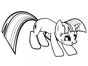 мой маленький пони искорка сумеречная картинки раскраски крупные (14)