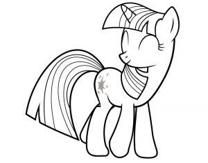 мой маленький пони искорка сумеречная картинки раскраски крупные (15)