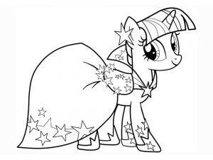 мой маленький пони искорка сумеречная картинки раскраски крупные (17)