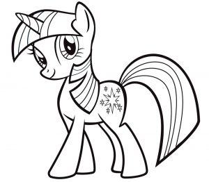 мой маленький пони искорка сумеречная картинки раскраски крупные (20)