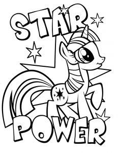 мой маленький пони искорка сумеречная картинки раскраски крупные (8)