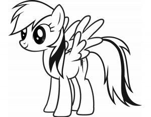 мой маленький пони понивил картинки раскраски крупные (15)