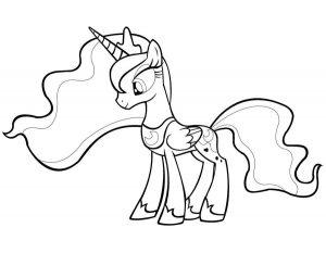 мой маленький пони понивил картинки раскраски крупные (8)