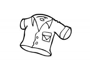 одежда для детей картинки раскраски крупные (10)