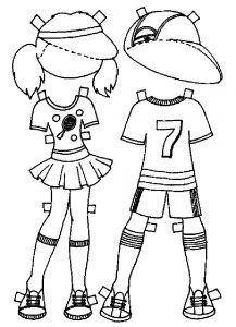 одежда для детей картинки раскраски крупные (11)