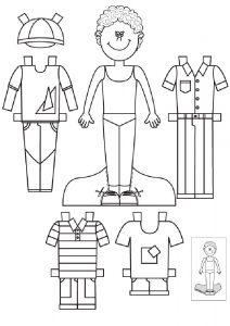 одежда для детей картинки раскраски крупные (16)