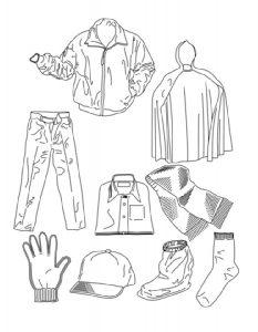 одежда для детей картинки раскраски крупные (33)