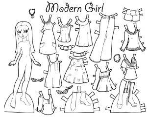 одежда для детей картинки раскраски крупные (40)