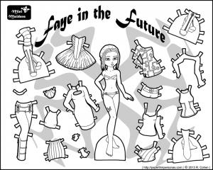 одежда для детей картинки раскраски крупные (41)