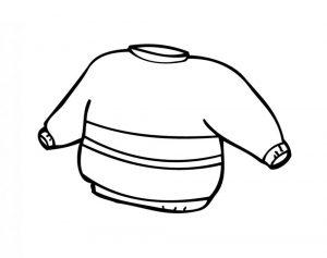 одежда для детей картинки раскраски крупные (47)