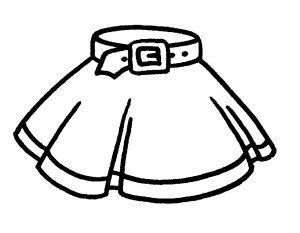 одежда для детей картинки раскраски крупные (49)