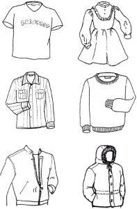 -для-детей-картинки-раскраски-крупные-9-197x300 Одежда для детей