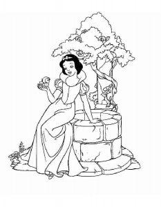 принцессы диснея картинки раскраски крупные (12)