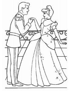 принцессы диснея картинки раскраски крупные (18)