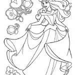 принцессы диснея картинки раскраски крупные (20)