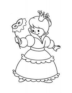 принцессы диснея картинки раскраски крупные (33)