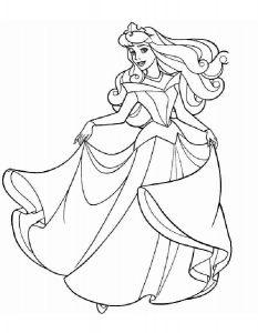 -диснея-картинки-раскраски-крупные-9-233x300 Принцессы Диснея
