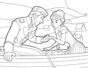 принц и принцесса картинки раскраски крупные (11)