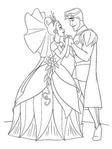 принц и принцесса картинки раскраски крупные (21)
