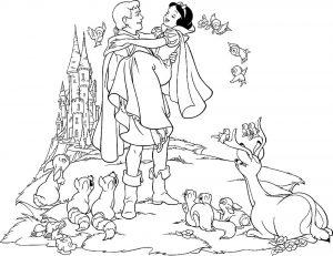 принц и принцесса картинки раскраски крупные (27)