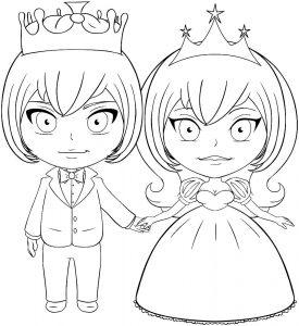 принц и принцесса картинки раскраски крупные (30)