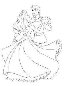принц и принцесса картинки раскраски крупные (32)