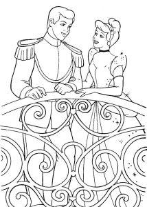 принц и принцесса картинки раскраски крупные (37)