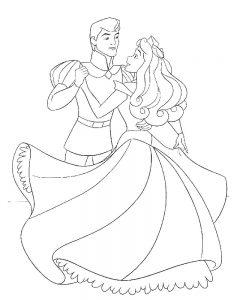 принц и принцесса картинки раскраски крупные (41)