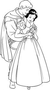 принц и принцесса картинки раскраски крупные (45)
