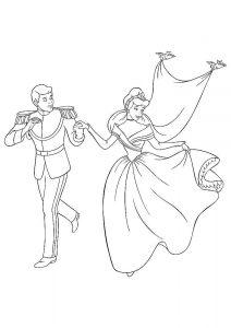 принц и принцесса картинки раскраски крупные (50)