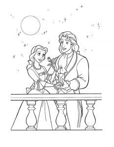 принц и принцесса картинки раскраски крупные (52)