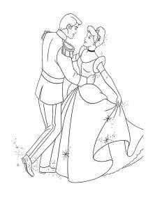 принц и принцесса картинки раскраски крупные (53)
