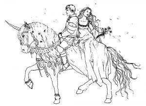 принц и принцесса картинки раскраски крупные (55)