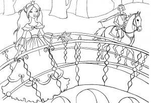 принц и принцесса картинки раскраски крупные (6)