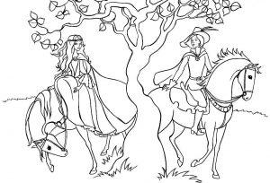 принц и принцесса картинки раскраски крупные (68)