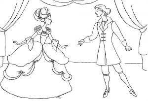принц и принцесса картинки раскраски крупные (7)