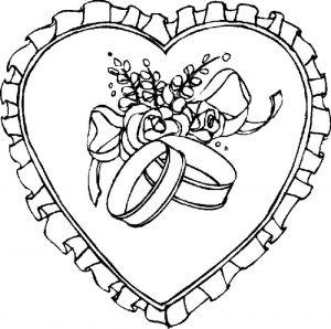 сердечки картинки раскраски крупные (107)