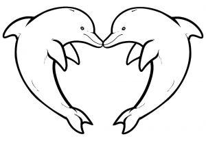 сердечки картинки раскраски крупные (112)