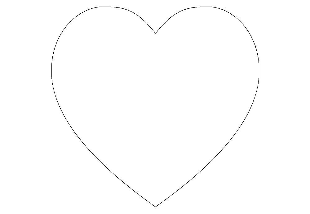 половинку контуры сердечка картинки грязные волосы, минимум