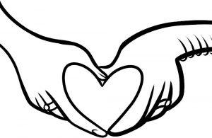 сердечки картинки раскраски крупные (21)