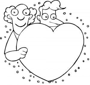 сердечки картинки раскраски крупные (29)