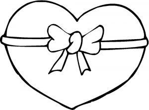 сердечки картинки раскраски крупные (31)