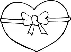 сердечки картинки раскраски крупные (34)
