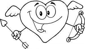 сердечки картинки раскраски крупные (39)