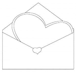сердечки картинки раскраски крупные (6)