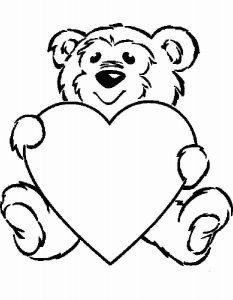 сердечки картинки раскраски крупные (88)