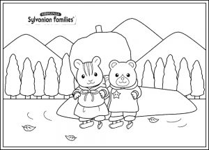 сильвания фэмили картинки раскраски крупные (23)