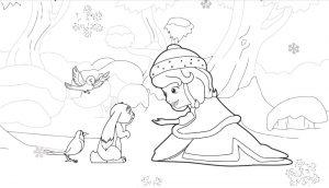 софия прекрасная картинки раскраски крупные (8)